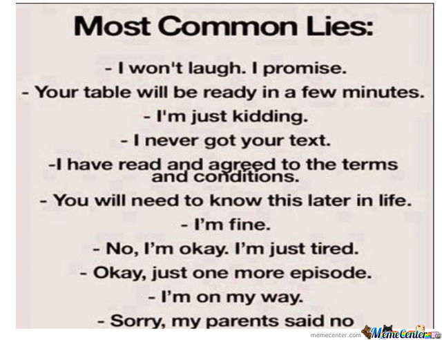 Common Lies