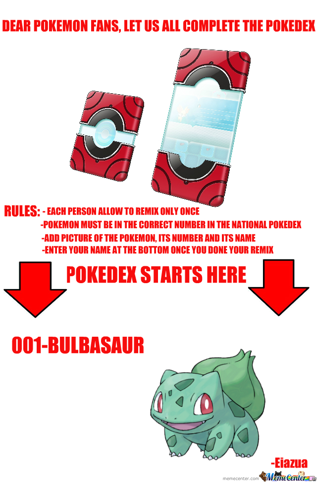 Complete The Pokedex With Me