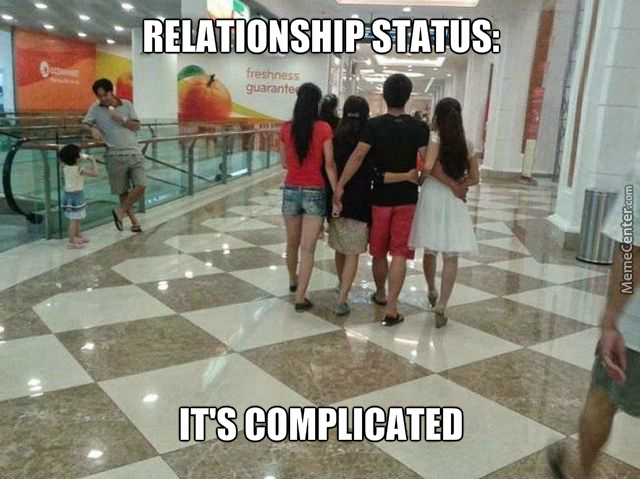 Complicated Relationships Everywhere