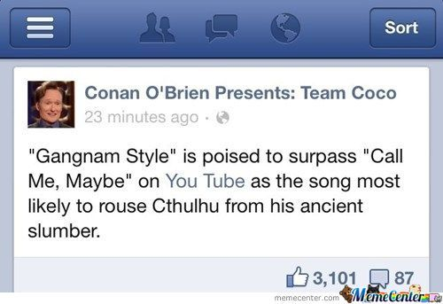 Conan Just Being Conan