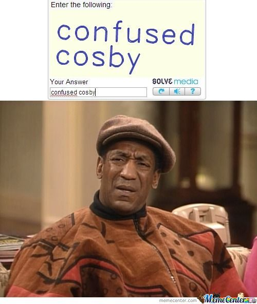 Confused Cosby...