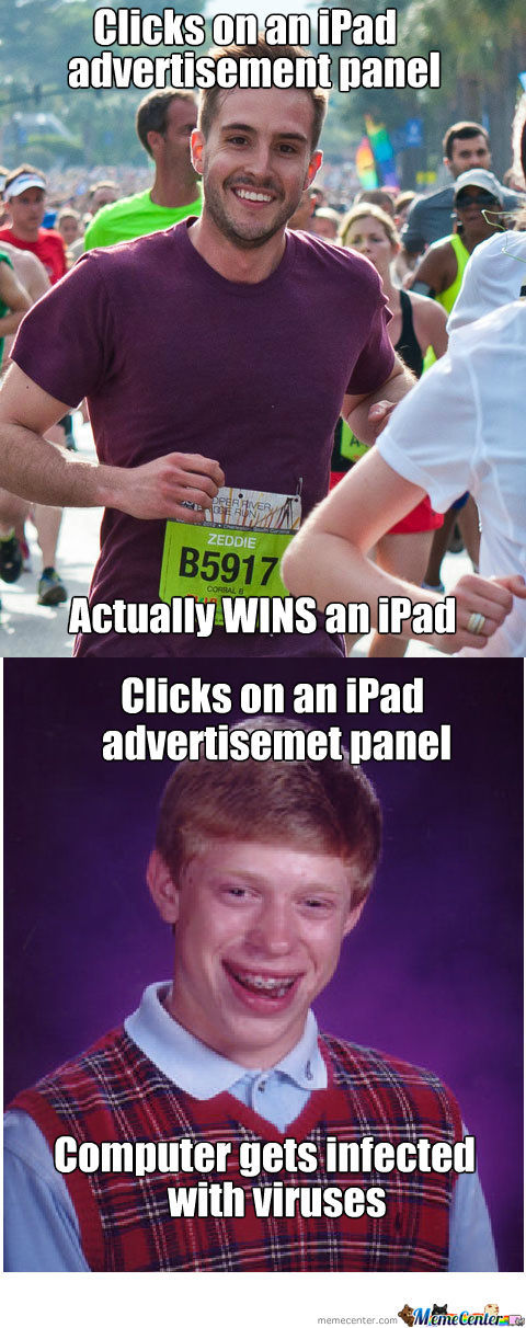 *congratulations!  You've Won A Free Ipad!*