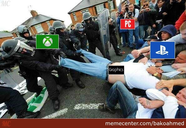 Console Wars In A Nutshell
