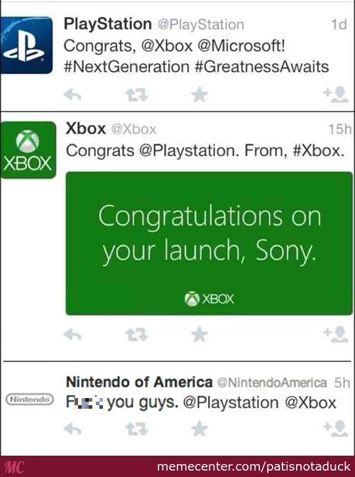 Consoles On Twitter