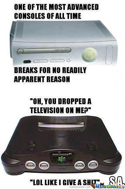 Consoles Then And Now