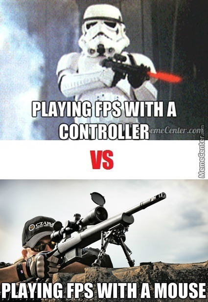 Controller Vs Mouse