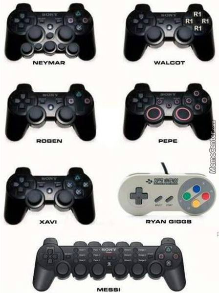 Controllers For Certain Football Players