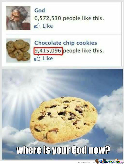 Cookie 1 - God 0