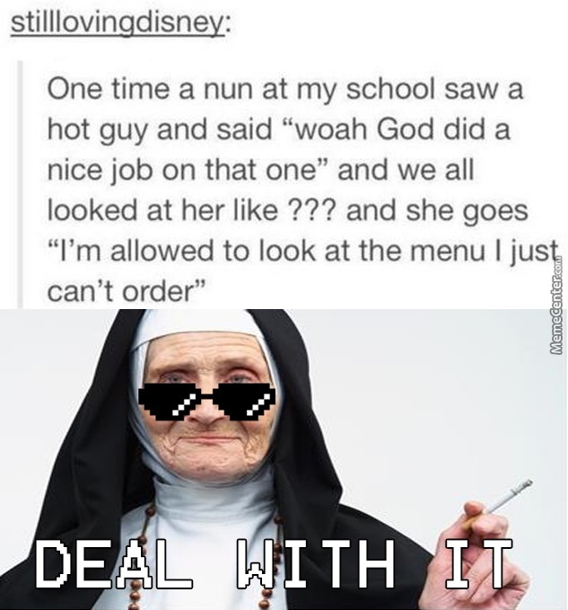 Cool Nun Is Cool