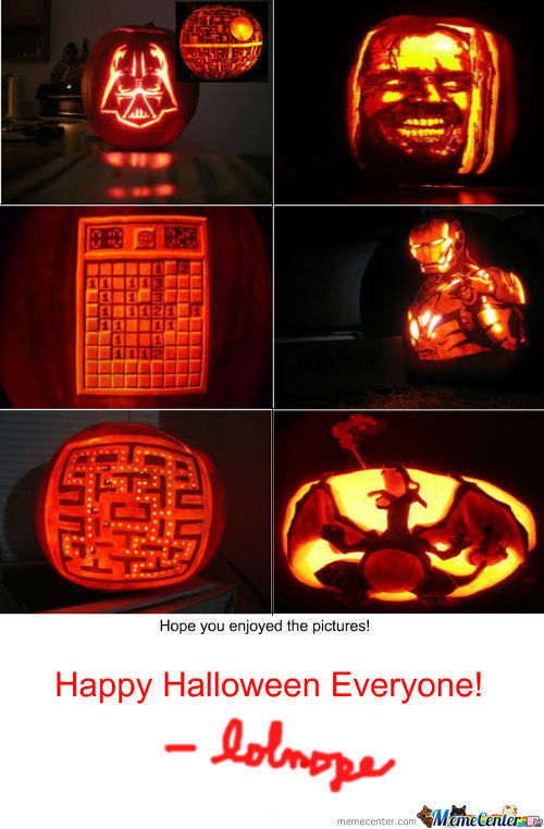 Cool Pumpkin Carvings