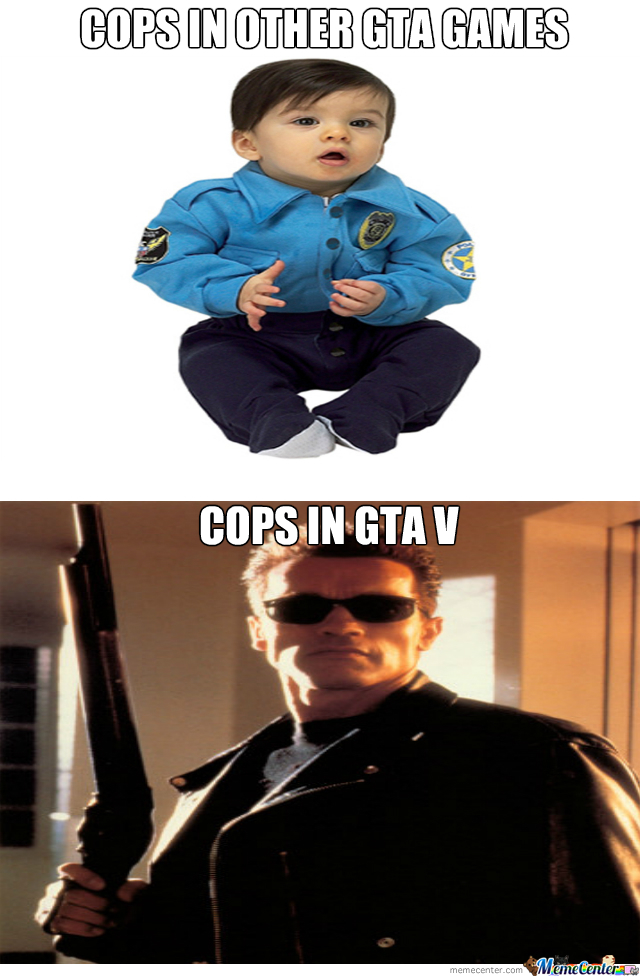 Cops In Gta!