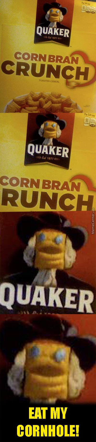 Corn Bran... Just Eat It