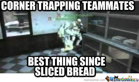 Corner Trapping Teammates