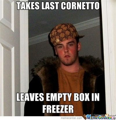 Cornetto Scumbags