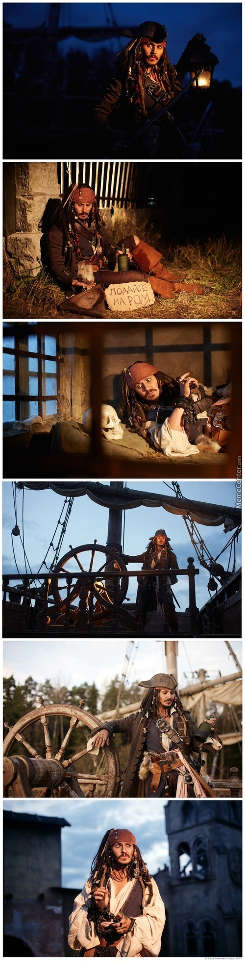 Cosplay:captain Jack Sparrow