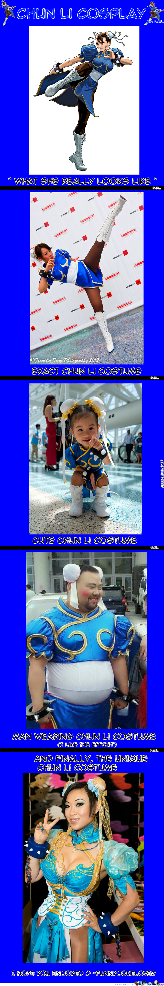 Cosplay: Chun Li Edition