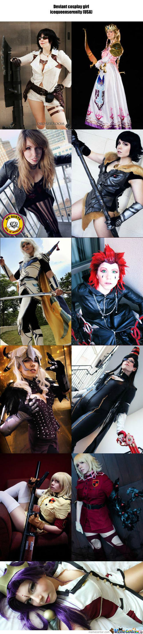 Cosplay Girl 101 : Icequeenserenity (Usa)