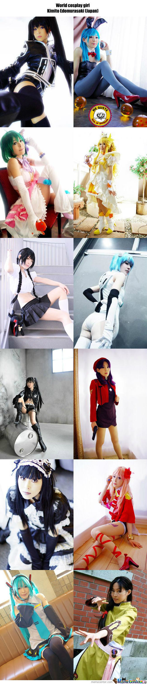 Cosplay Girl 19 : Kimito Edomurasaki (Japan)