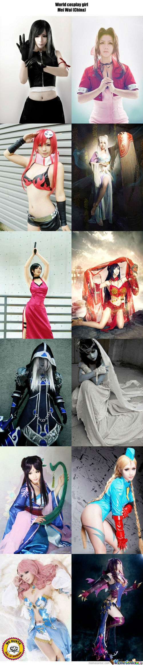 Cosplay Girl 47 : Mei Wai (China)