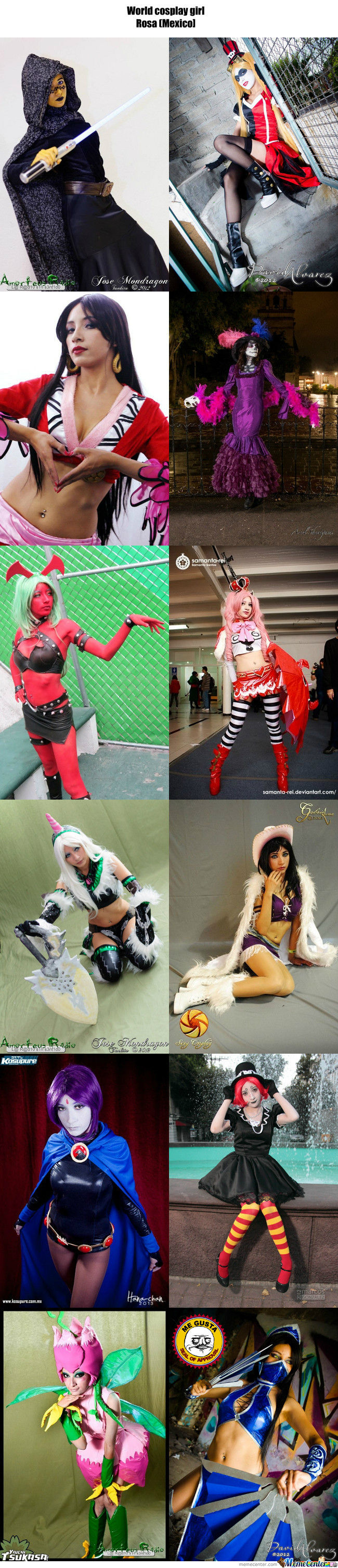 Cosplay Girl 61 : Rosa (Mexico)