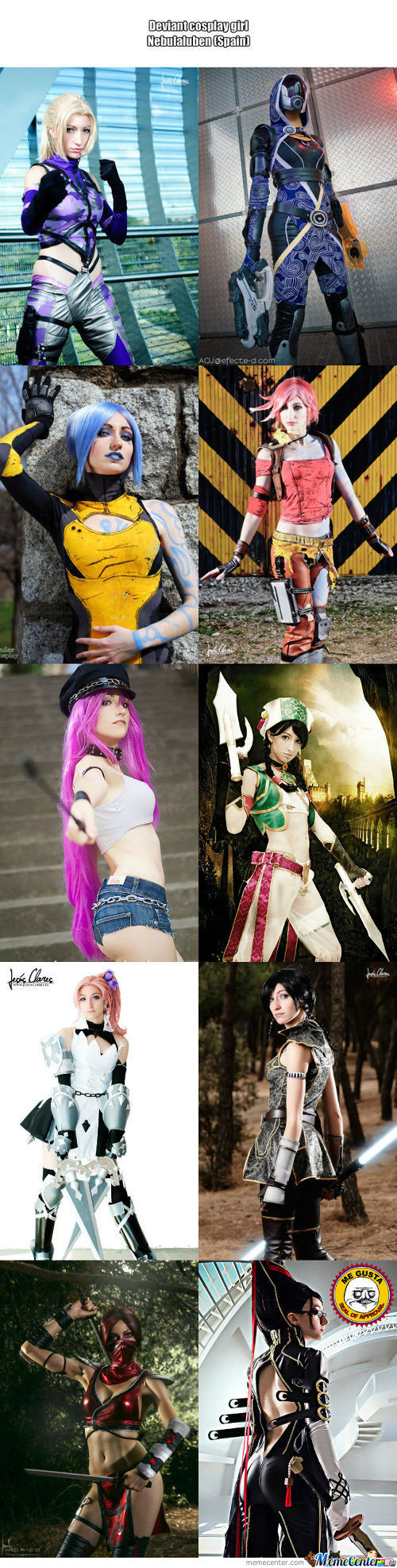 Cosplay Girl 72 : Nebulaluben (Spain)