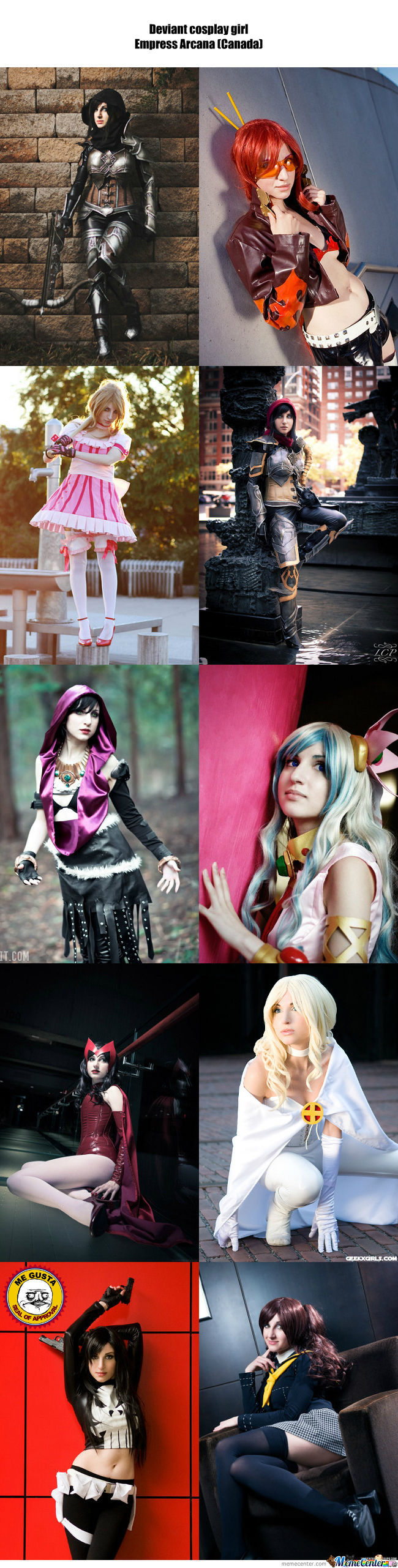 Cosplay Girl 76 : Empress Arcana (Canada)