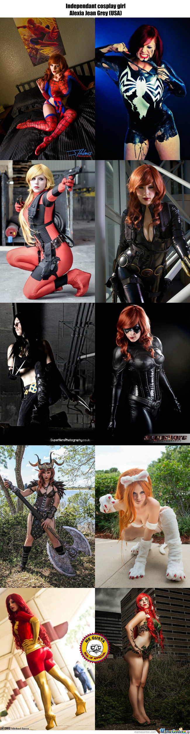 Cosplay Girl 77 : Alexia Jean Grey (Usa)