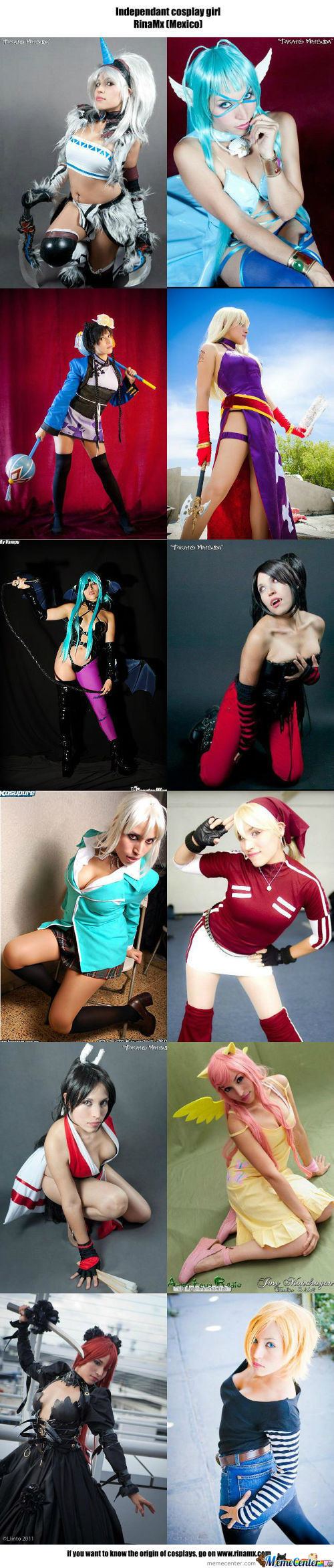 Cosplay Girl 85 : Rinamx (Mexico)