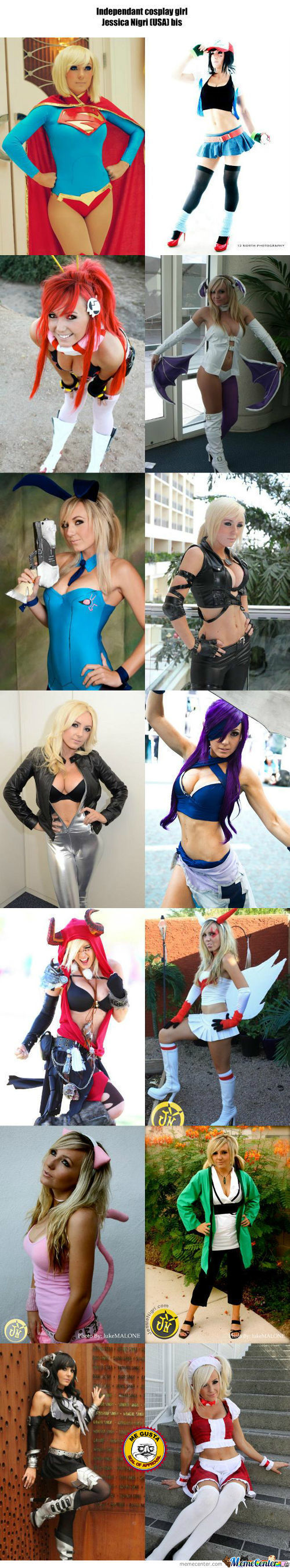 Cosplay Girl 94 : Jessica Nigri (Usa) Bis