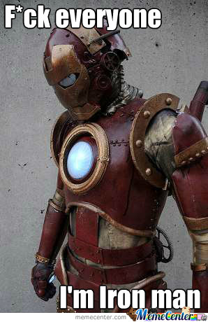 Cosplay Level: Iron Man