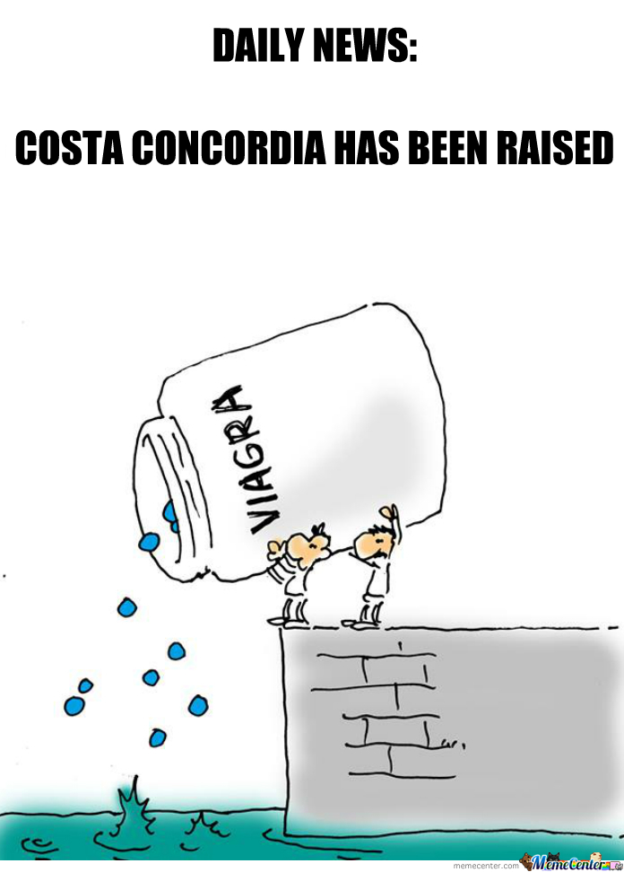 Costa Concordia Raised