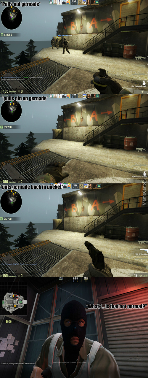 Counter Strike Go ... Go Away Logic