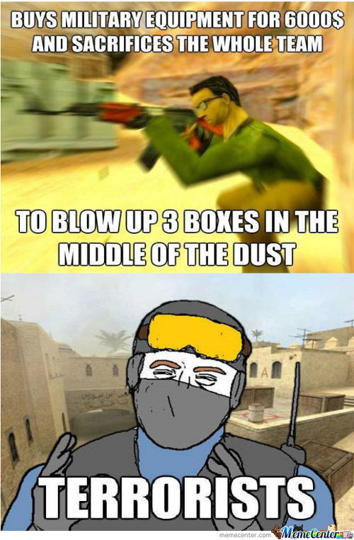 Counter Strike Logic