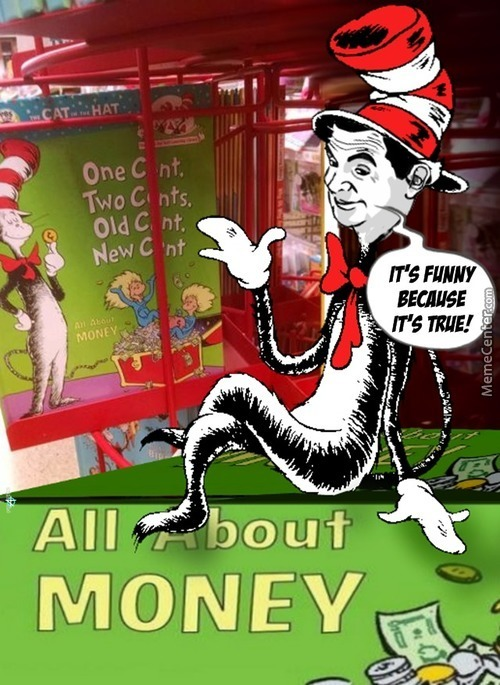 Counting C*nts With Dr Seuss