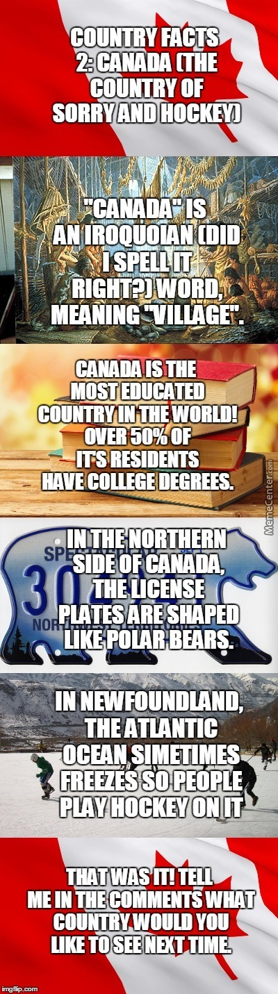 Country Facts #2: Canada