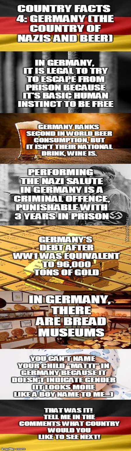 Country Facts #4- Germany