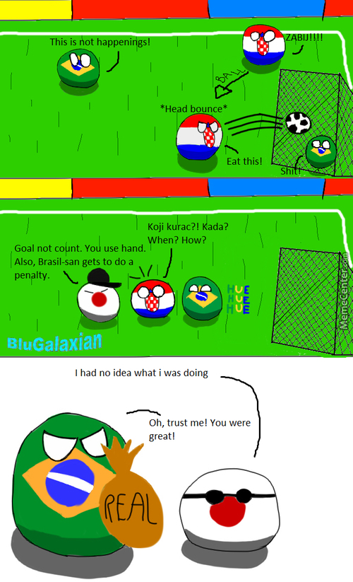 Countryballs 5: Croatia-Brasil Football Match 2014