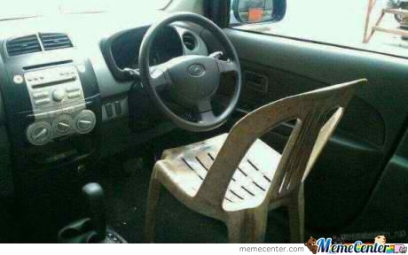Coz' Car Seats Are Too Mainstream