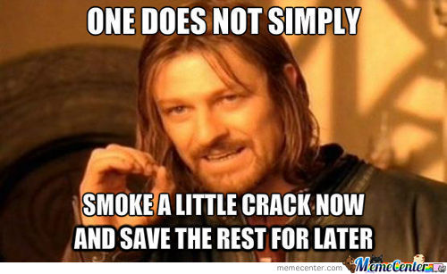 Crack Is Like Lays Chips