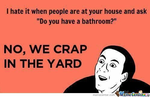 Crap In The Yard