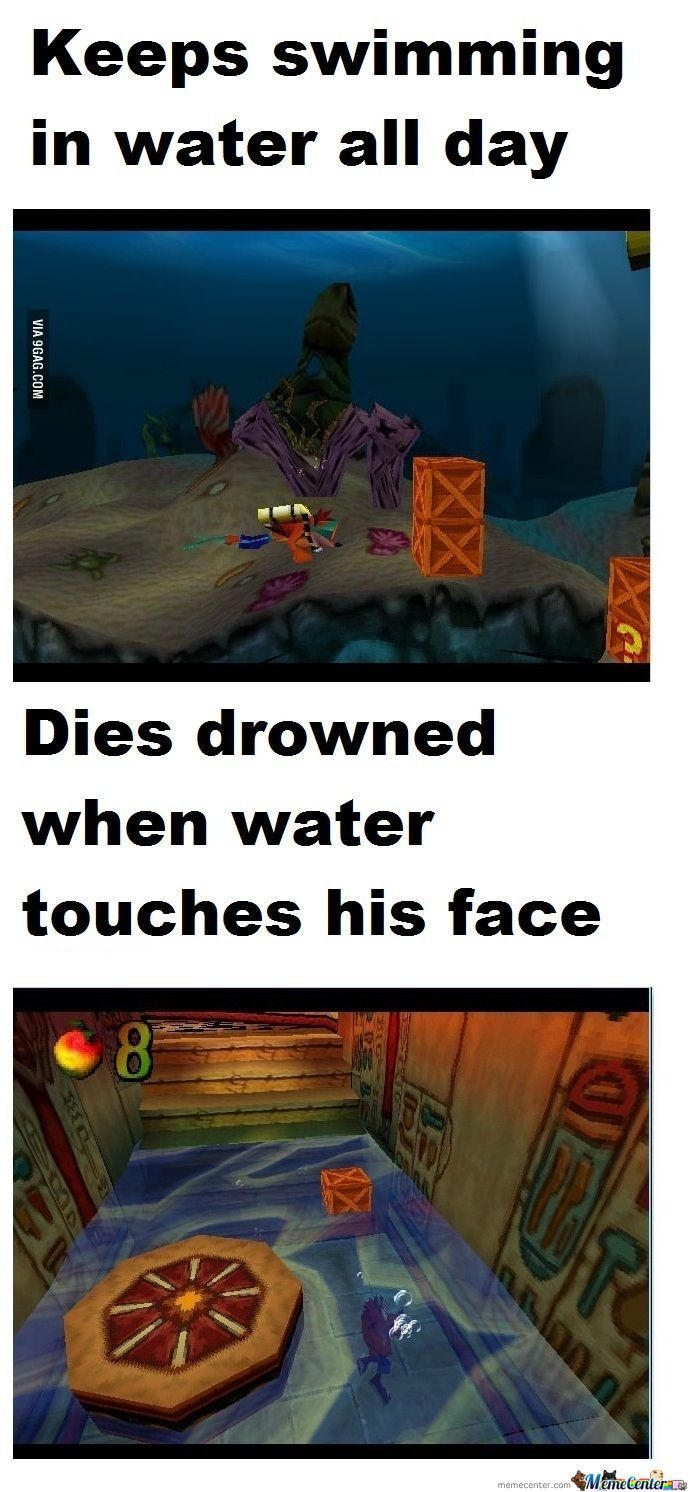 Crash Bandicoot Logic