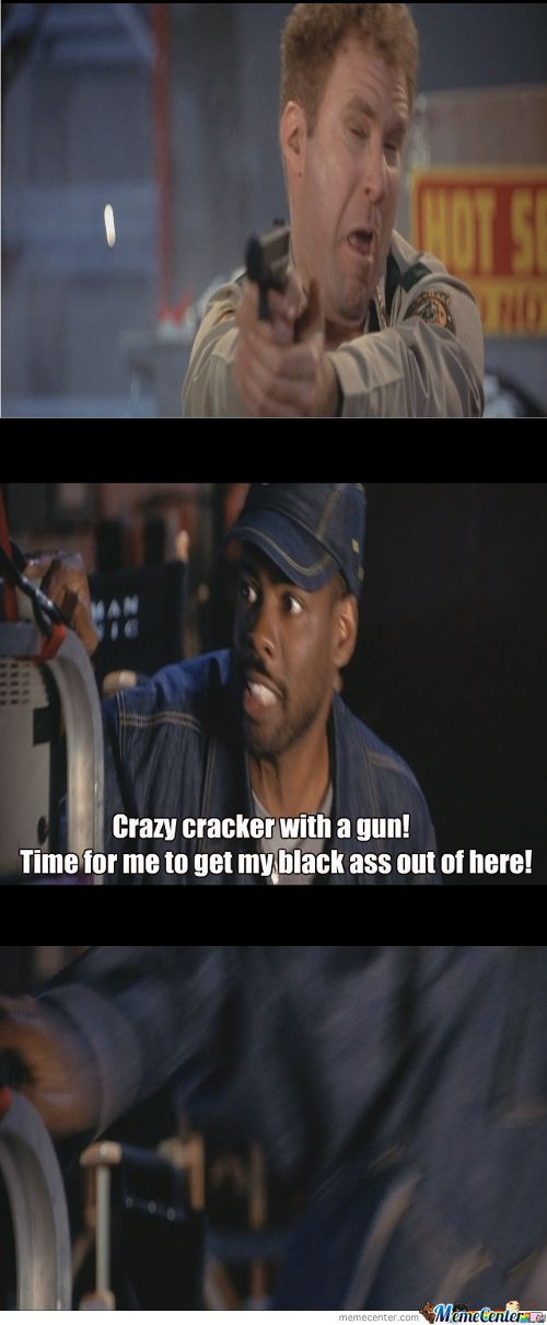 Crazy Cracker With A Gun