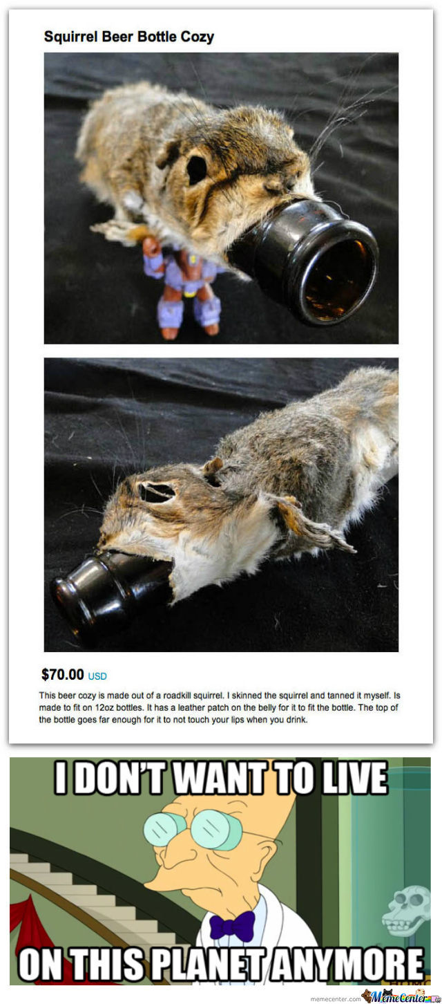 Crazy Taxidermist