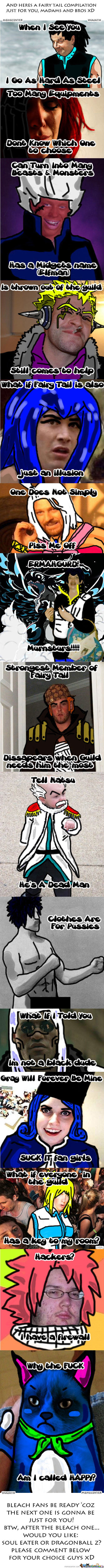 'create Your Own Fairy Tail Compilation And You Will Become The Greatest Mage Ever'- Makarov