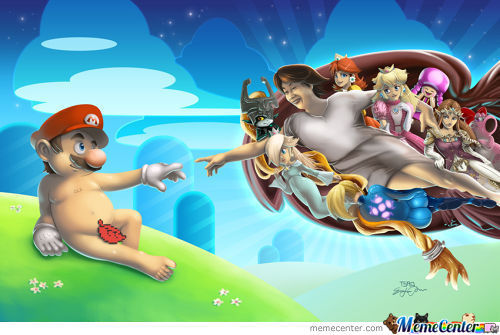 Creation Of Mario