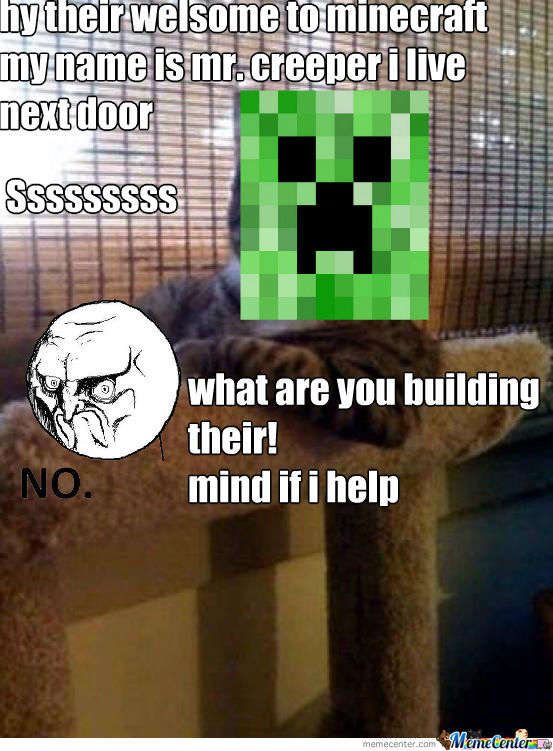 Creeper Are Hater In Minecraft