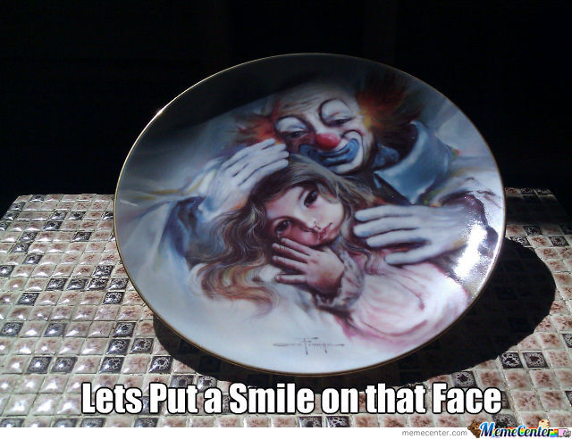 Creepy Plate Is Creepy