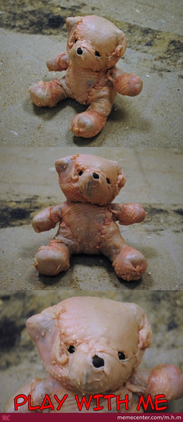 Creepy Teddy Bear