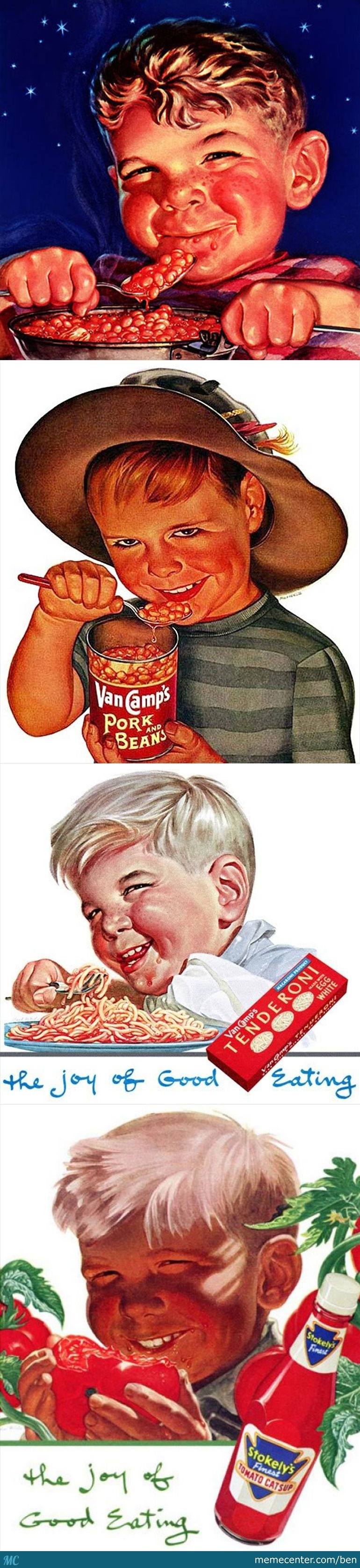 Creepy Vintage Ads