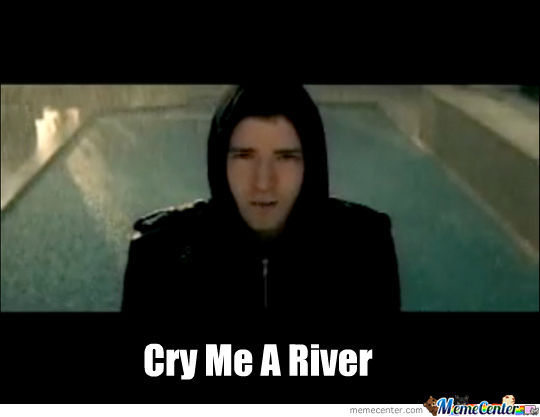 justin cry me a river